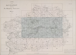 Index to the map of London made for the Metropolitan Commissioners of Sewers